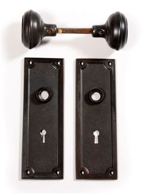 Arts And Crafts Door Knobs by Four Matching Antique Arts Crafts Door Hardware Sets