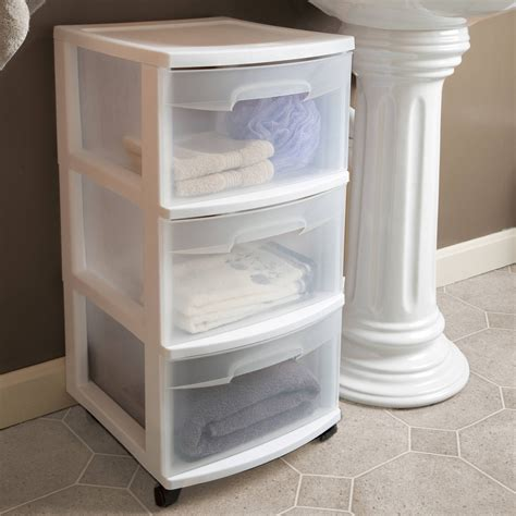 3 drawer bathroom storage bathroom storage drawers on wheels bathroom ideas