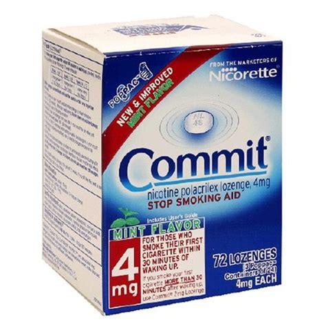 Detox From Nicotine Lozenges by Commit Lozenges Patient Information Description Dosage