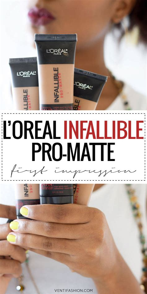 Foundation Loreal Matte l oreal pro matte foundation review