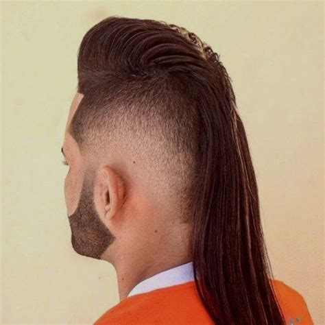 mohawk hair long in the front 17 best images about long hairstyles for men on pinterest