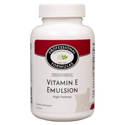 Vitamin Emulsion Professional Complementary Health Formulas Jarrow Formula