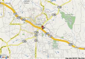 map of conyers map of days inn conyers conyers