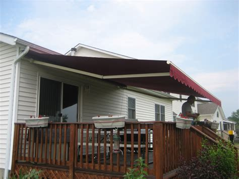 deck awnings retractable retractable deck awnings home design ideas and pictures