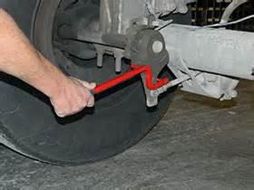Adjusting Air Brake System Slack Adjusters Slakjak Air Brake Slack Check Tool