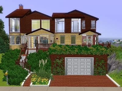 Home Design Like The Sims My Sims 3 Humble House By Lili