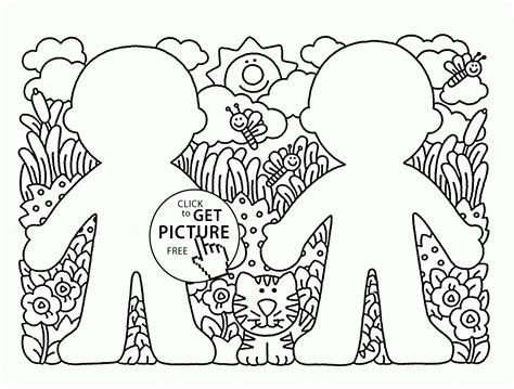 Spring Card Coloring Page For Kids Seasons Coloring Pages Coloring Pages For Cards