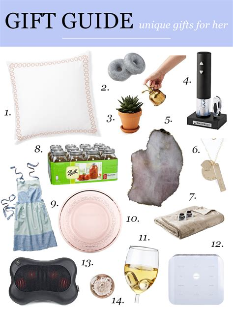 fun gifts for her 14 unique gifts for her holiday gift guide visions of