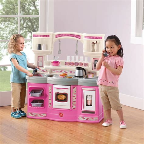 Step 2 Pink Kitchen by Le Light Canopy Le Free Engine Image For User Manual