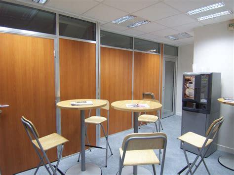 am駭agement bureaux open space r 233 alisations cloisons pleines espace cloisons alu ile