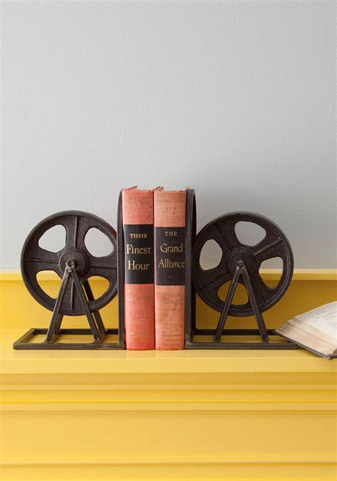 modcloth home decor vintage anchor your evening thermos industrial bookends