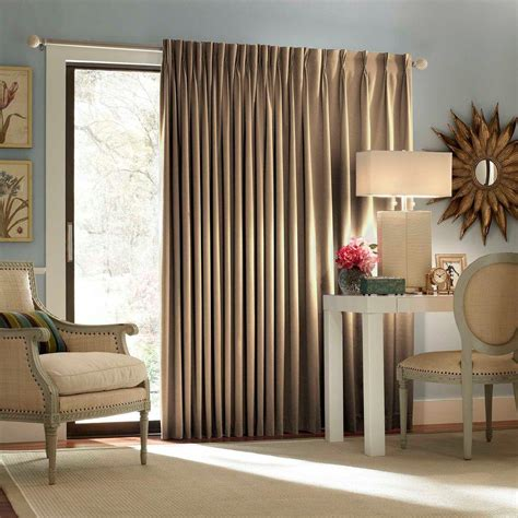 wheat curtains eclipse blackout thermal blackout patio door 84 in l