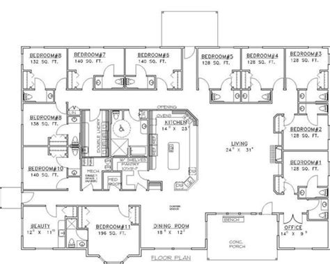 assisted living floor plan floor plan unwedded pinterest assisted living house