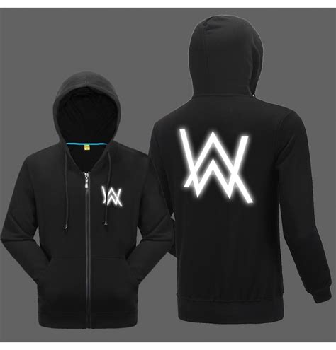 Sweater Alan Walker Hoodie Jumper alan walker zip alan walker faded remix zipper hoodies