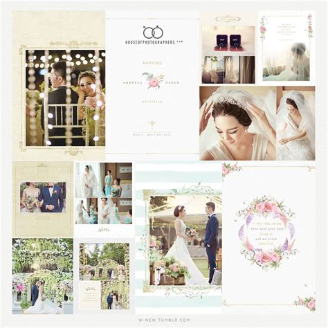 layout e editing wedding day photobook design photo by hop on behance