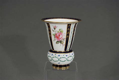 Royal Crown Derby Vases by Royal Crown Derby Painted Porcelain Vase With Roses
