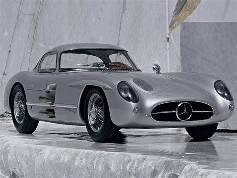 mercedes 300 slr design automobile