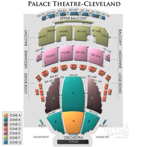 state theater seating chart cleveland connor palace playhouse square center tickets connor