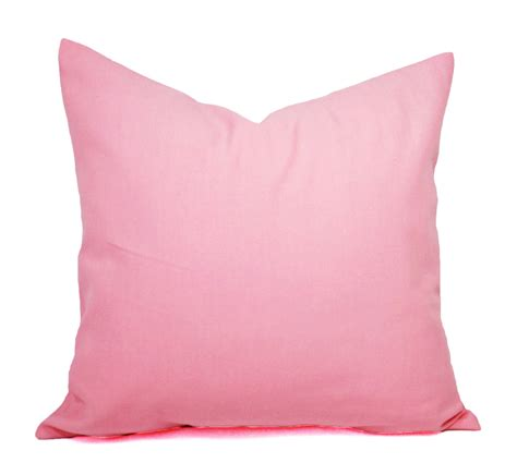 Pink Pillows by Two Baby Pink Pillow Covers Solid Pink Pillows Pink Throw