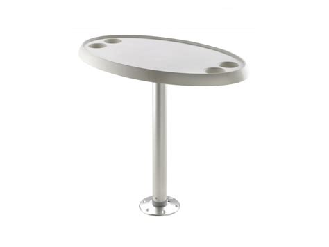 boat table boat table with pedestal fixed height round or oval