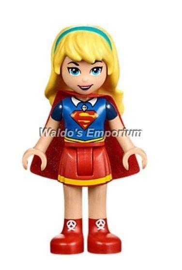 lego dc super heroes 0545903564 lego dc super hero girls minifigure supergirl 41232 new ebay