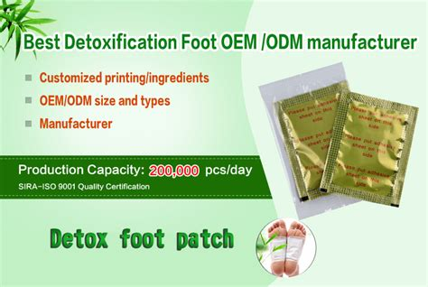 Kinoki Bamboo Foot Detox Patches by 2018 Original Factory Bamboo Detox Foot Patch Kinoki Foot