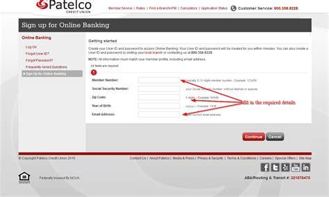 Forum Credit Union Zip Code patelco credit union banking login login bank