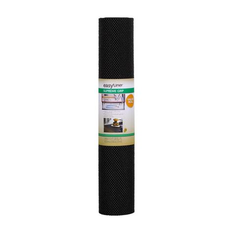 24 Shelf Liner by Shop Duck Covers 24 In X 10 Ft Black Shelf Liner At Lowes