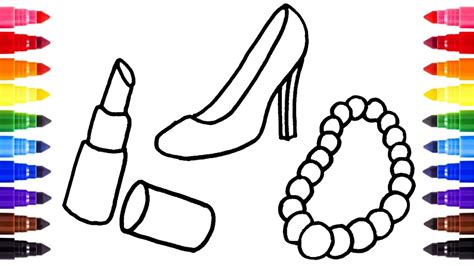 amazing necklace coloring page artsybarksy