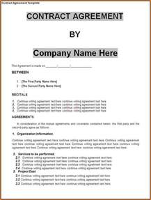 Free Business Contracts Templates Doc 575709 Mutual Agreement Contract Sample Mutual