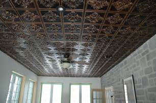 faux tin antique ceiling tiles by www talissadecor