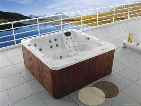 bathtub hot tub outdoor spa with whirl massage m 3310 china manufacturer