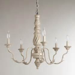 Grey Chandelier Lighting Gray Vintage Chandelier World Market