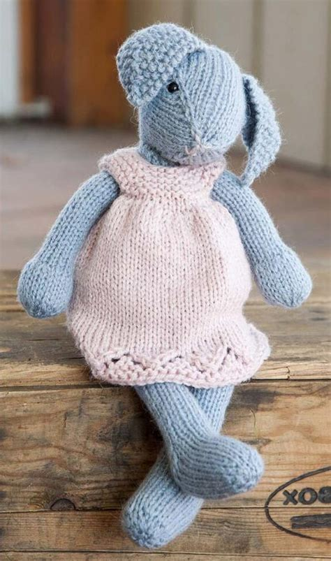 rabbit knitting bunny rabbit knitting patterns in the loop knitting