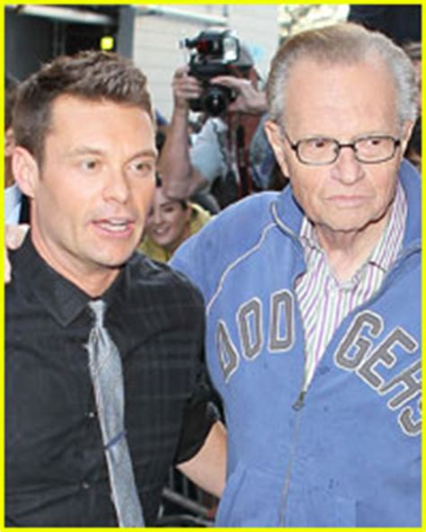 Larry King Wants Seacrest As His Successor by Larry King Wants Seacrest To Replace Him Larry King