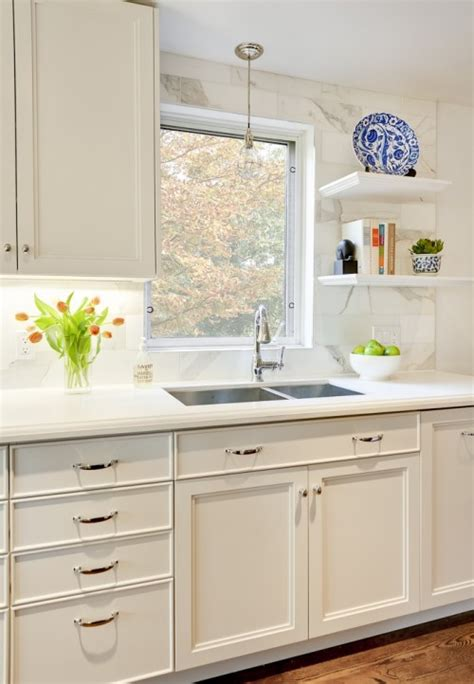 white kitchen cabinets with white countertops off white kitchen cabinets design ideas