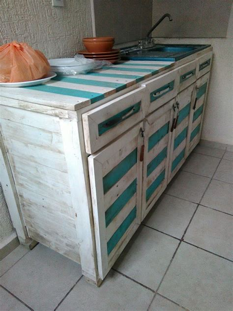pallet kitchen furniture best 25 pallet kitchen cabinets ideas on
