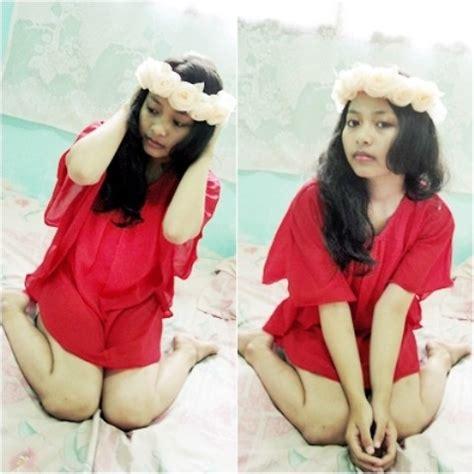 Andita Stripe I 10 andita luan diy flowers crown forever 21 dress lookbook