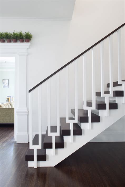 contemporary banister rails design decisions stair railing design