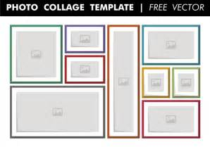 photo collage template free vector download free vector