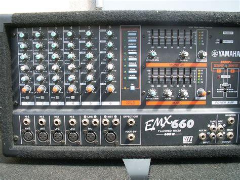Mixer Yamaha Emx yamaha emx660 image 206735 audiofanzine