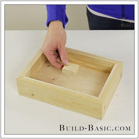 build a diy shadow box frame build basic