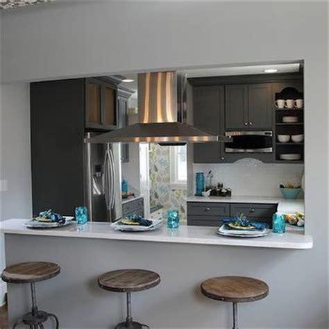 how to make a pass through kitchen bar breakfast bar pass through design ideas