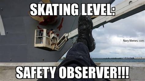 Funny Safety Memes - safety meme skating level safety observer picsmine