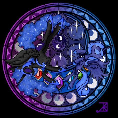 mlp nightmare moon stained glass 108 best images about princess luna and nightmare moon on