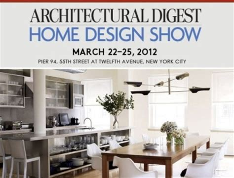 new york times home design show architectural digest home design show 2012 new york city