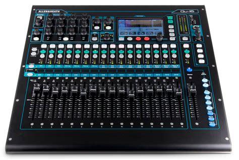 Mixer Allen Heath 16 Channel Allen Heath Qu 16 16 Channel Digital Mixer