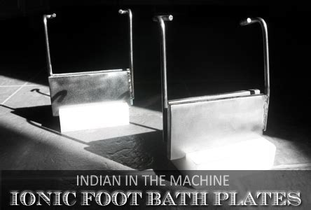 Steel Metal Plate Foot Detox by Ionic Foot Bath Information Stories Myths Education
