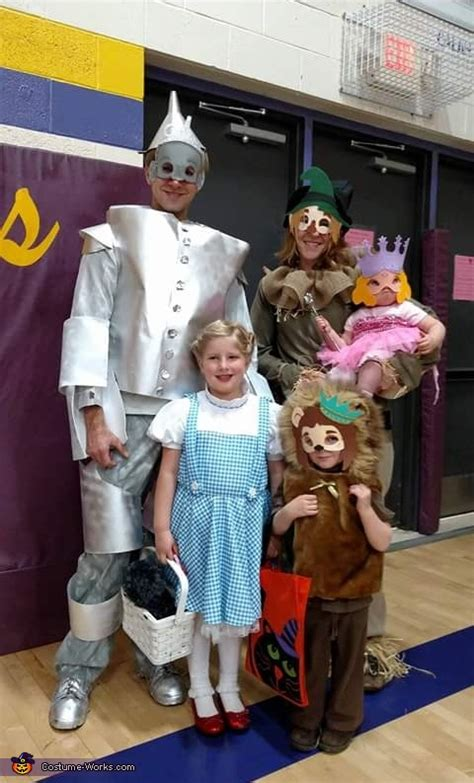 diy wizard  oz  family costume creative diy costumes