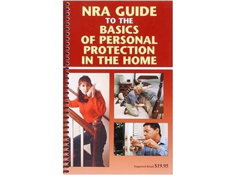 how to a personal protection nra guide to personal protection the home book mpn b 4483